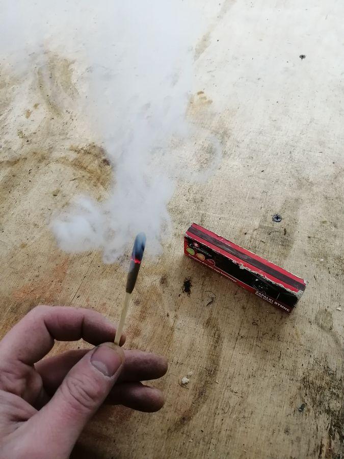 дымообразующие спички